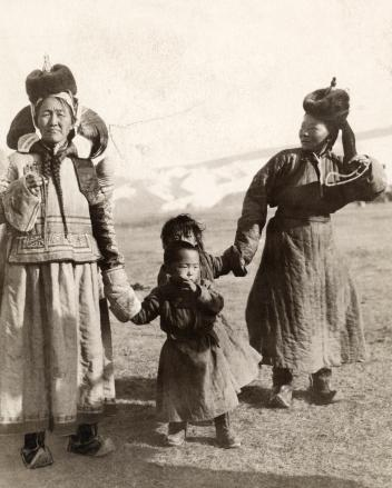 Mother and Child in Mongolia